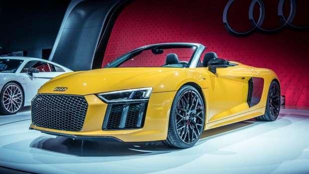 """R8 Spyder"", Audi prezanton modelin e ri cabrio"