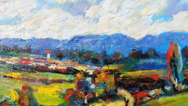 Bujar Zela, piktori që ndjen me ngjyra