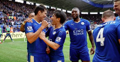 Leicester me hap kampioni, triumfon 4-0 ndaj Swansea