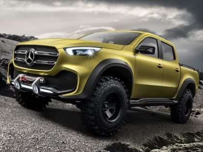 Fotogaleri/ 'Mercedes' prezanton modelin e ri drithërues 4×4