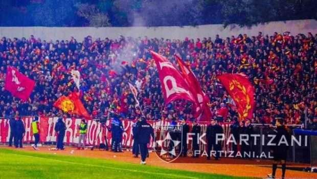 Paguan gjobën, Partizani kthen tifozët në stadium