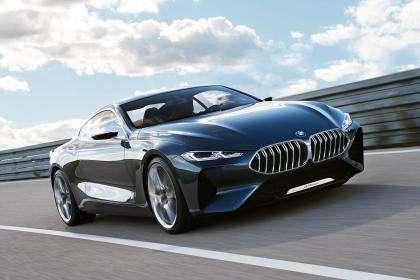 Modeli '8 Series' i 'BMW', mbret i makinave luksoze